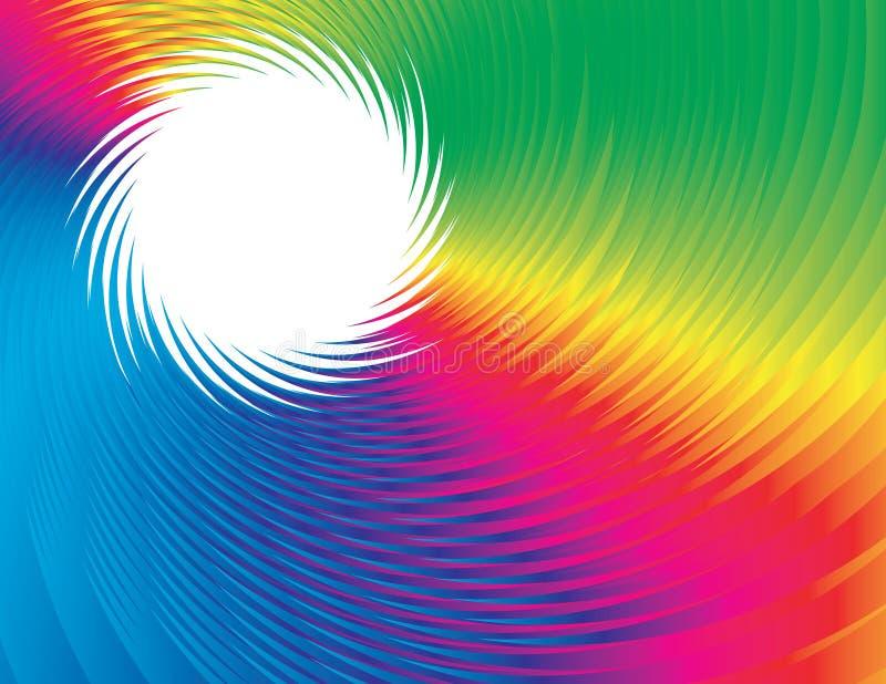 Volta do arco-íris ilustração stock