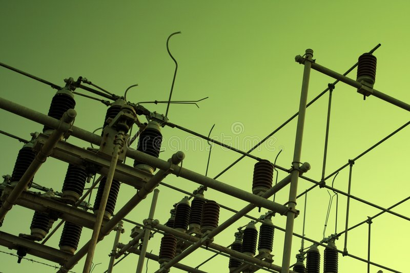 Voltage royalty free stock photography