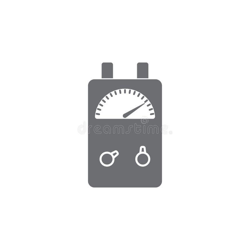 Voltage Ampere Meter Tester Icon. Simple Element Illustration ...