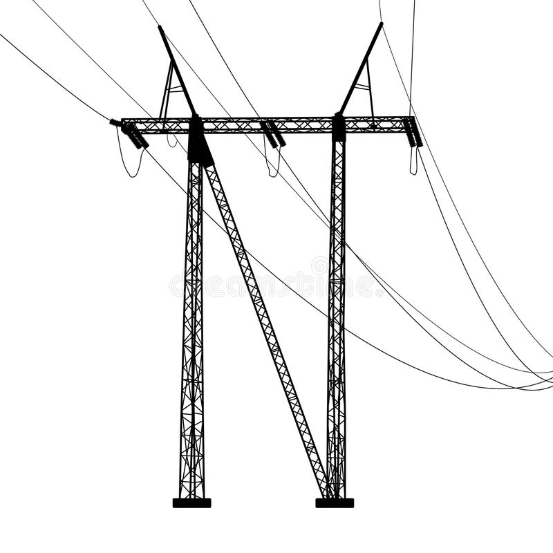 Free Voltage Power Lines Royalty Free Stock Photography - 33631777
