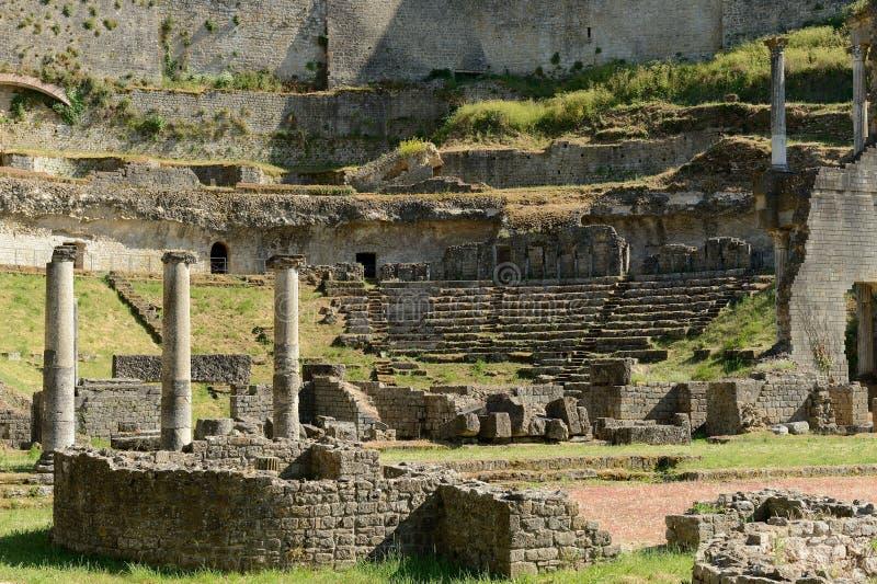 Volterra-αμφιθέατρο στοκ εικόνες με δικαίωμα ελεύθερης χρήσης