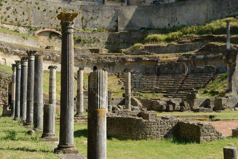 Volterra-αμφιθέατρο στοκ φωτογραφία με δικαίωμα ελεύθερης χρήσης