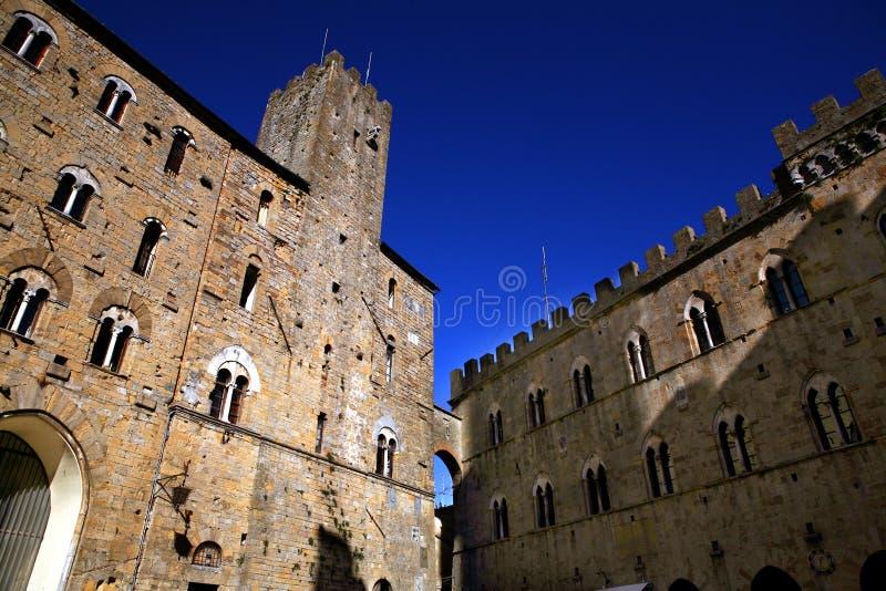Volterra royaltyfri fotografi