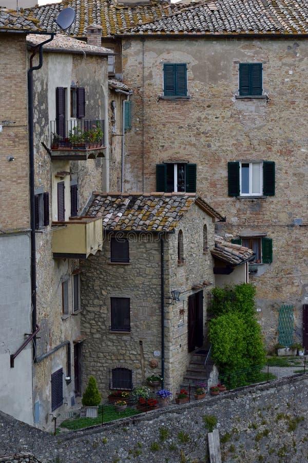 Volterra stockfotografie