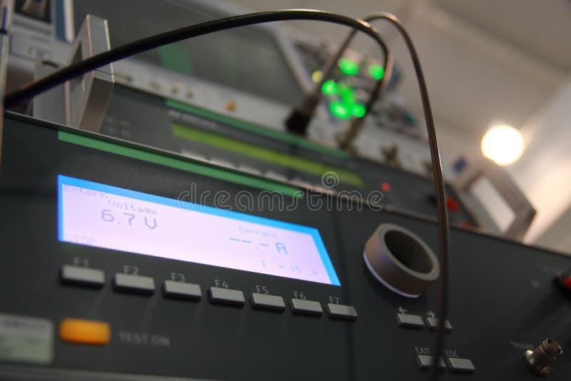 Voltmètre de Digitals. images libres de droits