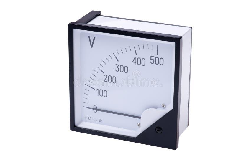 Voltmeter royalty-vrije stock afbeeldingen