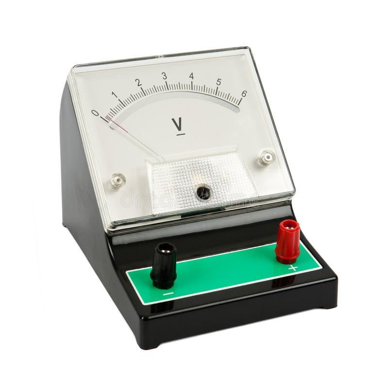 Voltmeter stock photos
