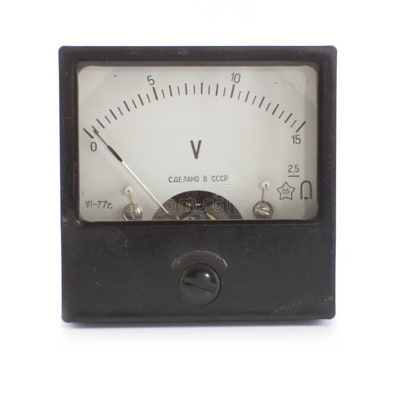 Voltmeter stock afbeeldingen