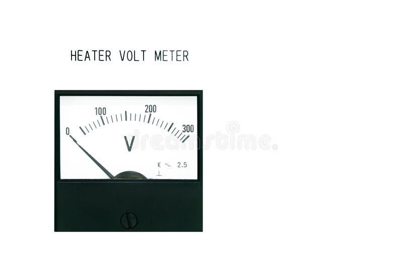 Voltmeter royalty-vrije stock foto