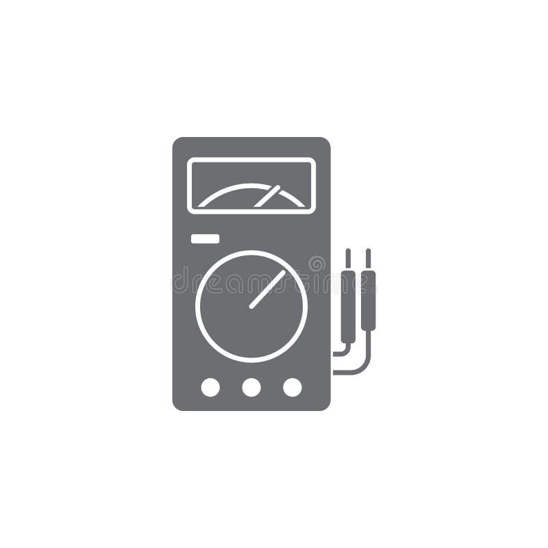 Voltmeter Icon. Simple Element Illustration. Voltmeter Symbol Design ...