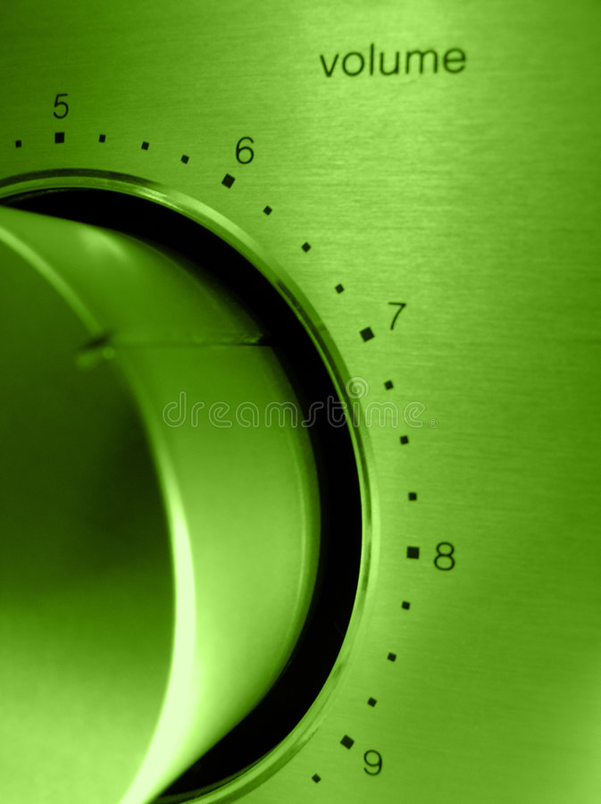 Volume. I love listen music loudly, and you stock photography
