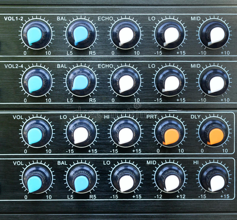 Download Volume Control Stock Photo - Image: 43011469
