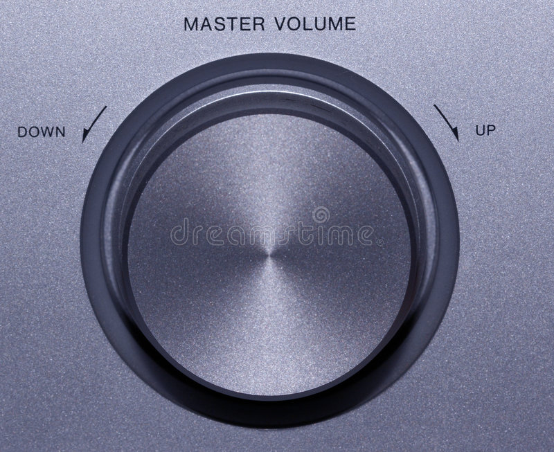 Volume Controll Stock Photography