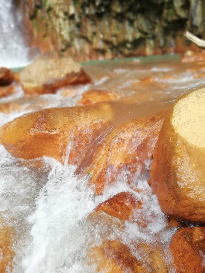 Volume de água fresco imagens de stock