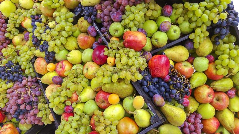 Volume do fruto fresco fotos de stock