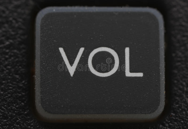 Download Volume Key From Old Cell Phone Royalty Free Stock Photos - Image: 11737628