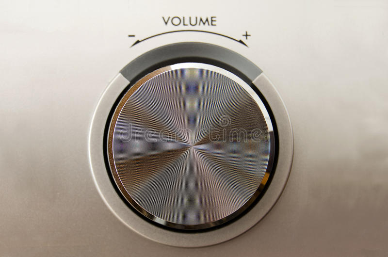 Download Volume knob stock photo. Image of detail, hifi, adjust - 24932836