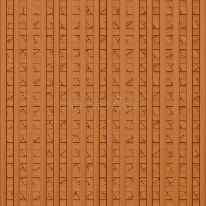 Volume verweven textuur van houten royalty-vrije illustratie