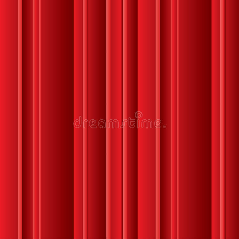 Volumetric Red Lines Background Royalty Free Stock Images