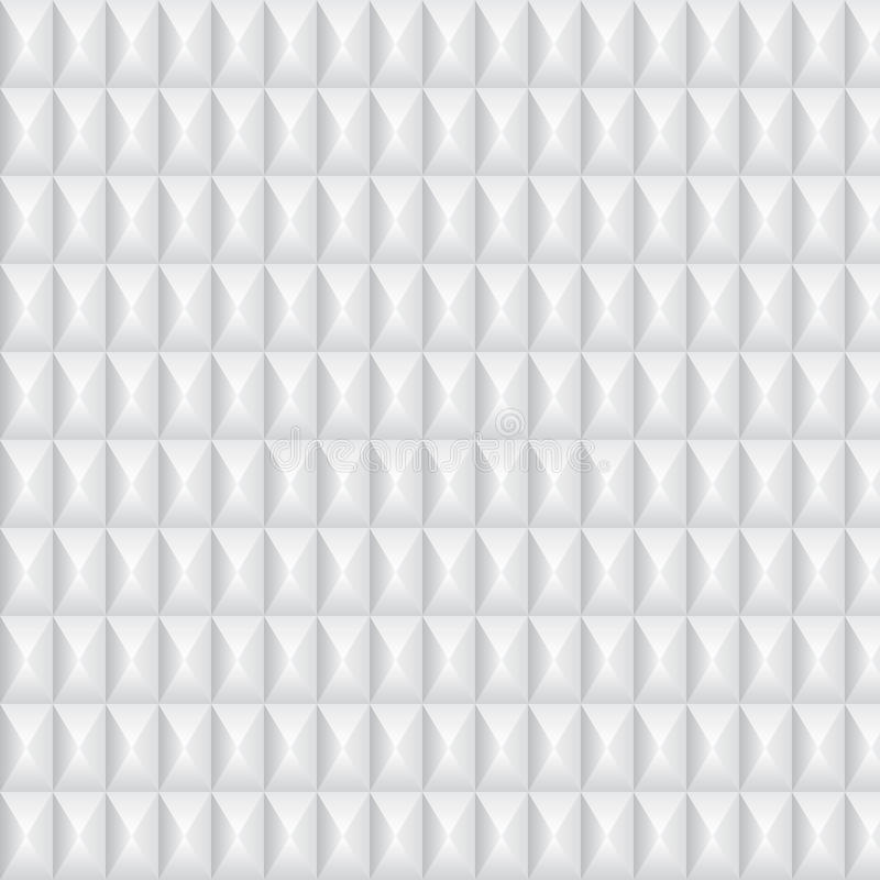 Volumetric Texture Of White Rhombus Royalty Free Stock Photo