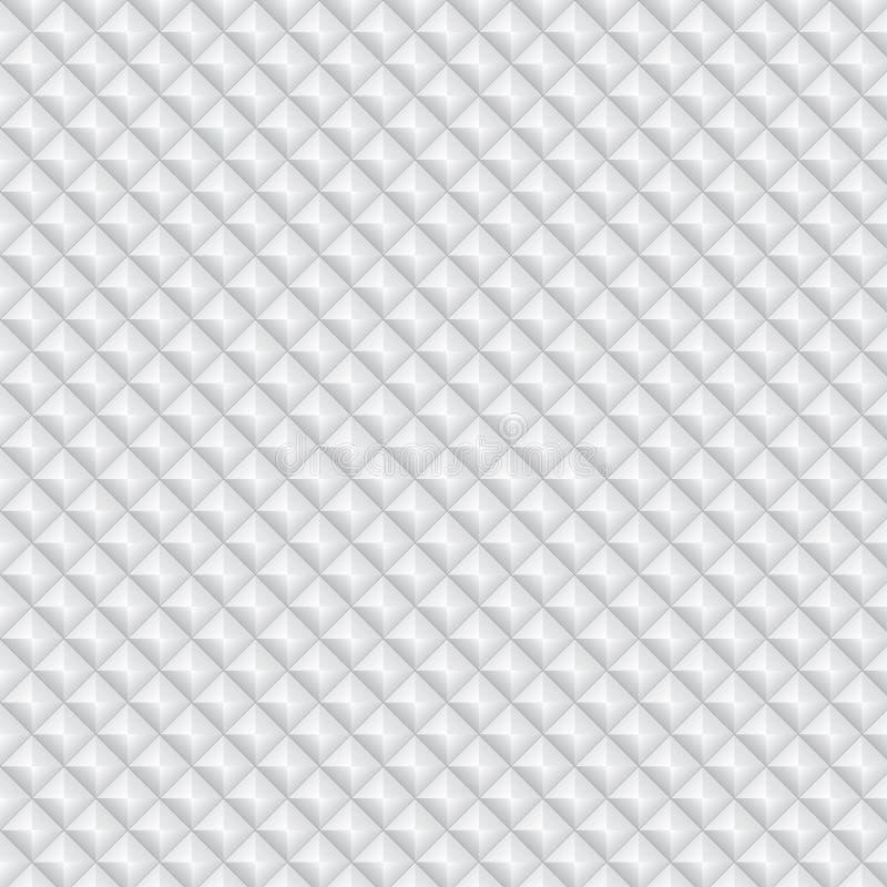 Volumetric Texture Of White Rhombus Royalty Free Stock Images