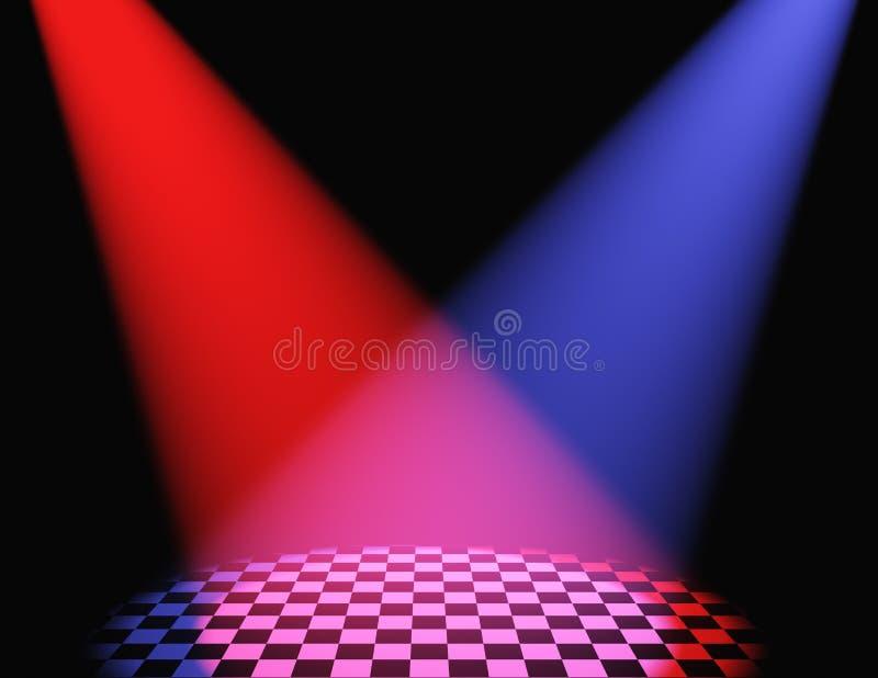 Download Volumetrische Leuchte Der Farbe Stock Abbildung - Illustration von öffnung, hintergrund: 9088712