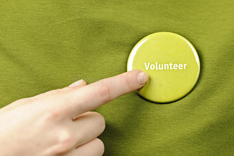 Download Volunteer button stock photo. Image of helping, environment - 26393616