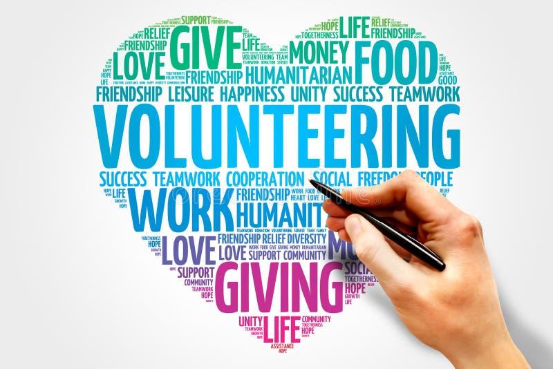 volunteering arkivfoto