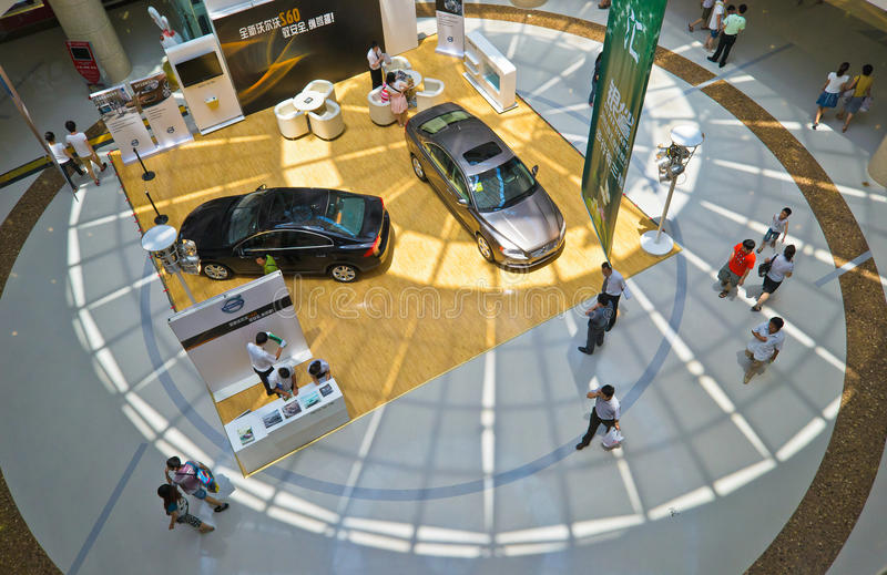 Download Volvo car show editorial stock photo. Image of walk, show - 20308843