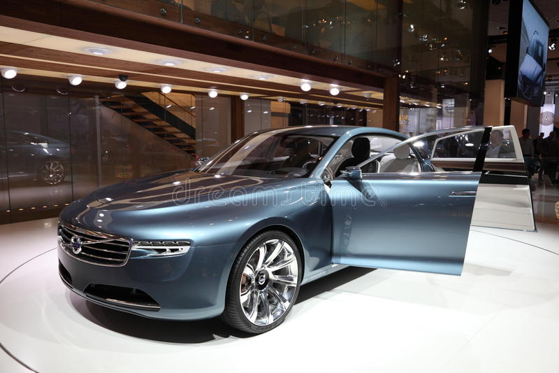 Download Volvo Concept Car You At IAA Editorial Stock Image - Image: 21299564