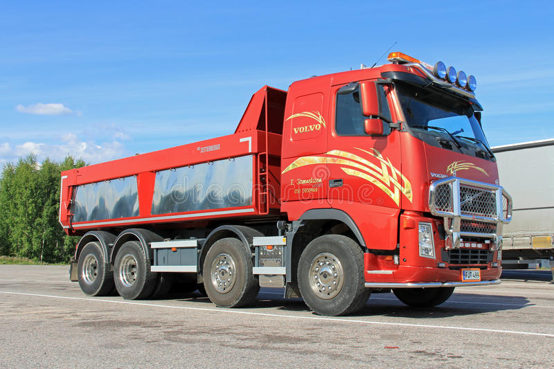 Volvo FH 480 Dump Truck stock images