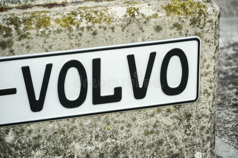 Volvo firmy znak obraz royalty free
