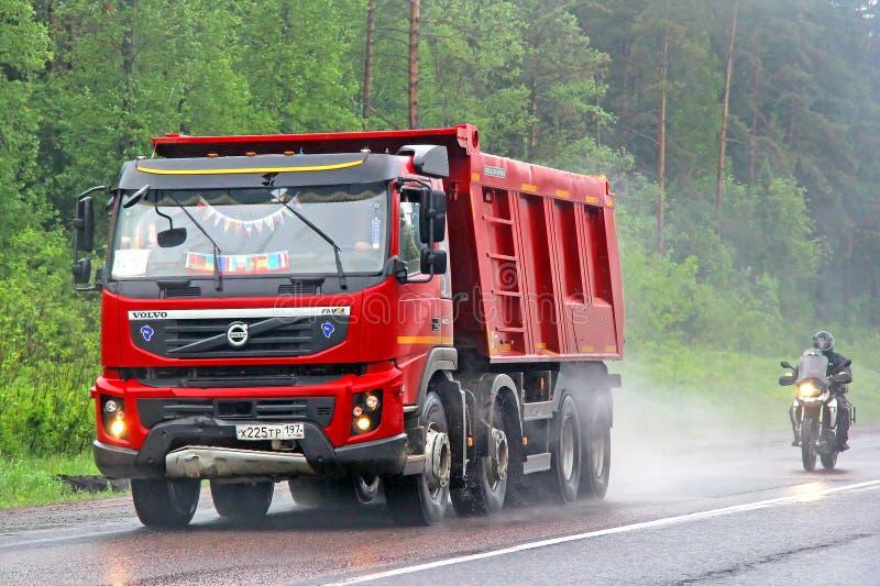 Volvo FMX fotografering för bildbyråer