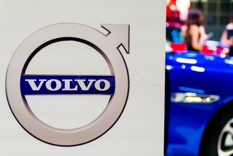 Volvo logo zdjęcie stock