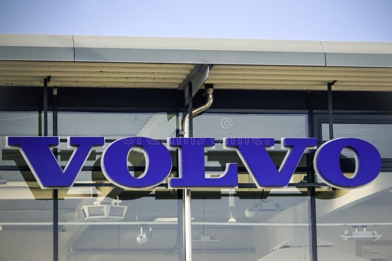 Volvo logo obraz royalty free