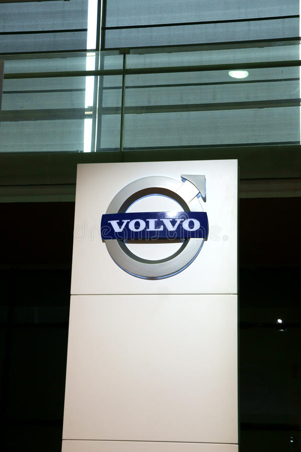 Volvo logo stock image