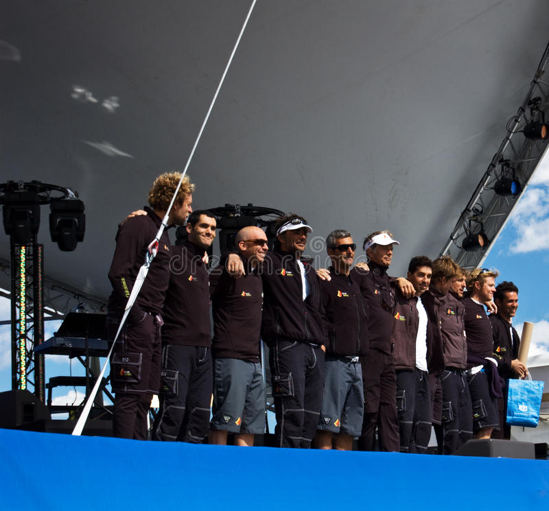 Download Volvo Ocean Race 2008-2009 Stopover Stockholm Editorial Photo - Image of ceremony, sailboat: 9975146