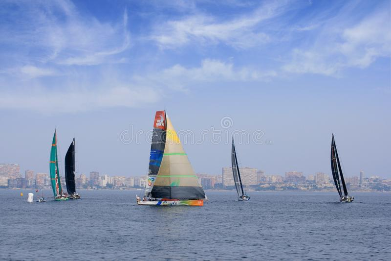 Download Volvo Ocean Race 2011 - 2012 Editorial Photography - Image: 21685692