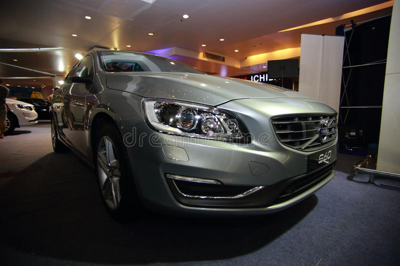 Volvo S60 stock images