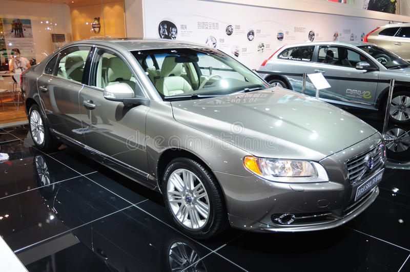 Volvo s80l t6 awd royalty free stock photo
