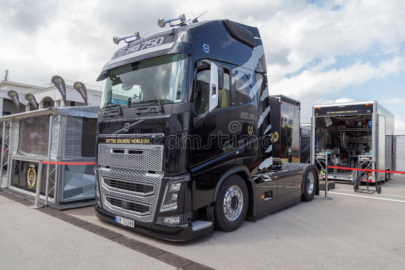 Volvo transporta fotos de stock