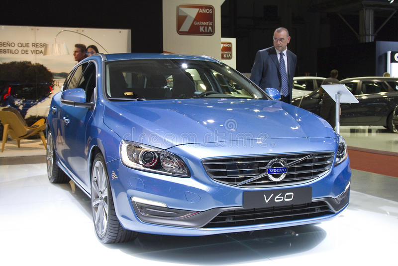Volvo V60 fotos de stock royalty free