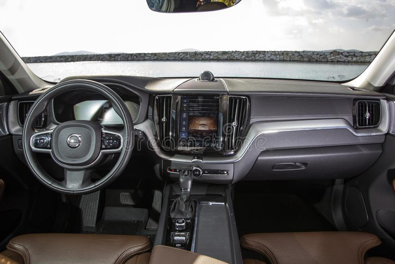 Volvo XC60 fotografia de stock royalty free