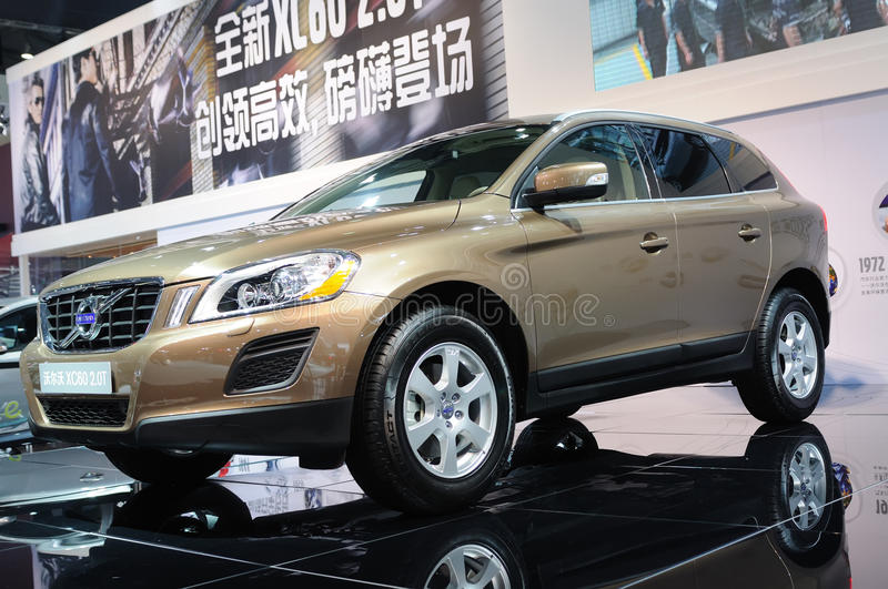 Volvo xc60 2.0t royalty free stock photography