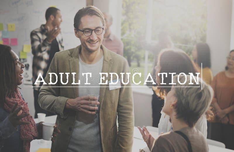 Volwassenenvorming het Leren het Concept van de Studieschool royalty-vrije stock afbeeldingen