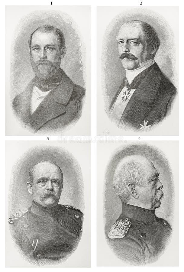 Von Bismarck d'Otto photos libres de droits