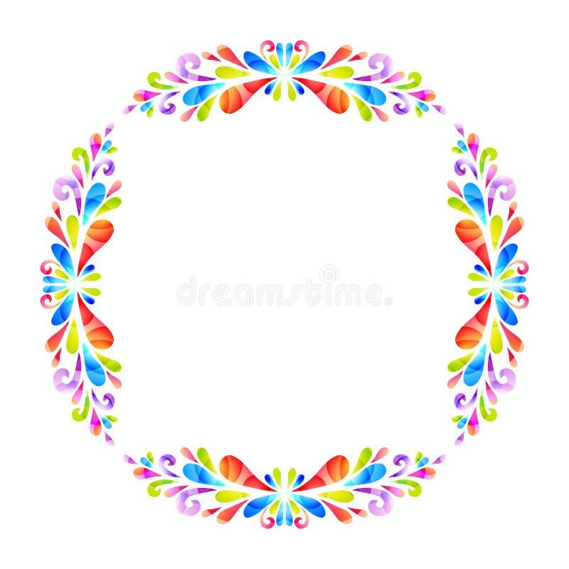 Von der Blumenfeldserie vektor abbildung