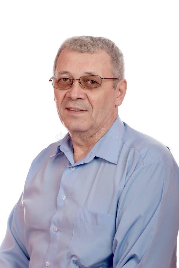 Von mittlerem Alter lächelnder Mann lizenzfreie stockbilder