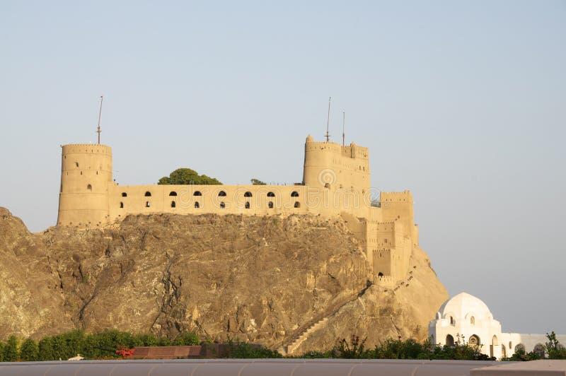 Von Oman Fort lizenzfreies stockbild