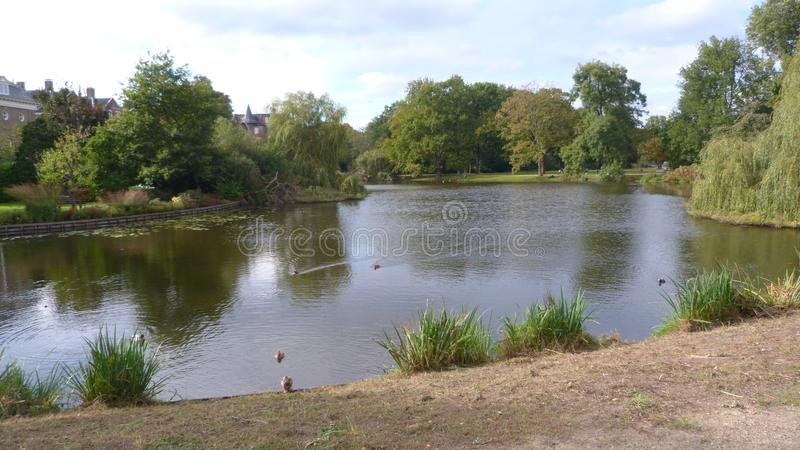 Vondelpark Amsterdam Holland. The Vondelpark is a public urban park of 47 hectares 120 acres in Amsterdam, Netherlands royalty free stock photos